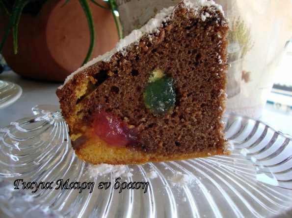 Κέικ με λουκούμια