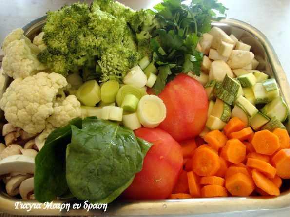 Ζωμοί  Λαχανικών