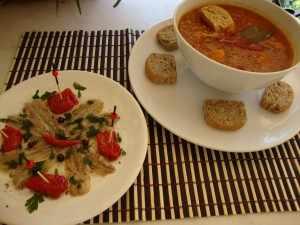φακές με λιαστή ντομάτα by mairh