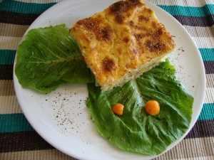 Χυλοπίτες με λαχανικά & μπεσαμέλ Φιλαδέλφεια