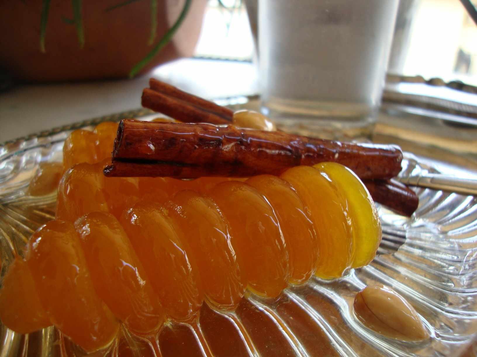 Γλυκό κουταλιού κολοκύθα με αρίδα