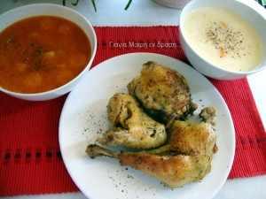 Κοτόσουπα σε δυο γεύσεις