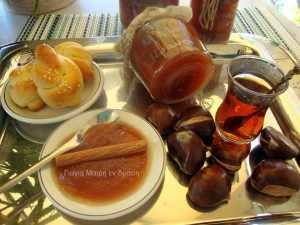 Μαρμελάδα μήλο με κράνα