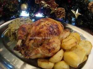 Κοτόπουλο γεμιστό by Mairh
