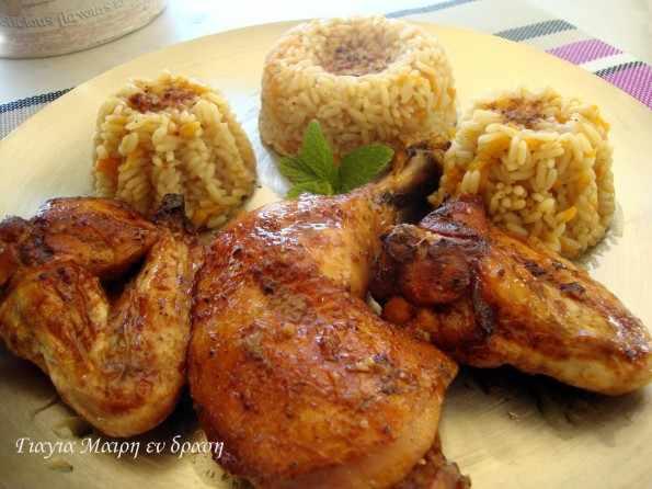 Κοτόπουλο πικάντικο Garam Masala