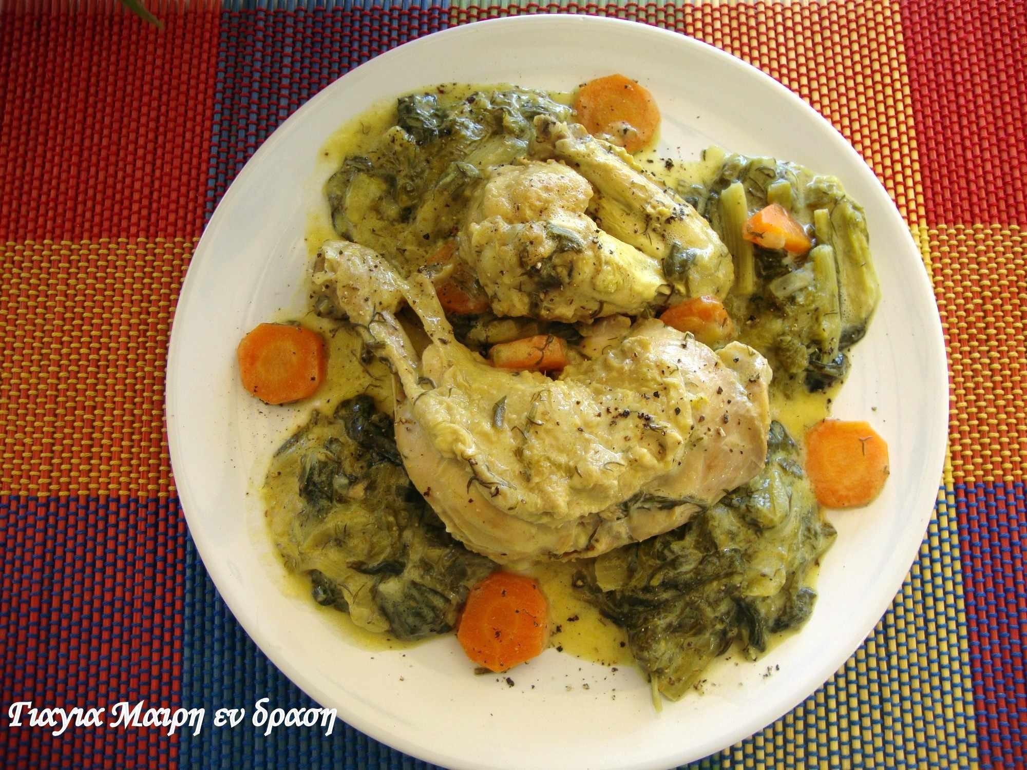 Φρικασέ κοτόπουλο με κάρυ