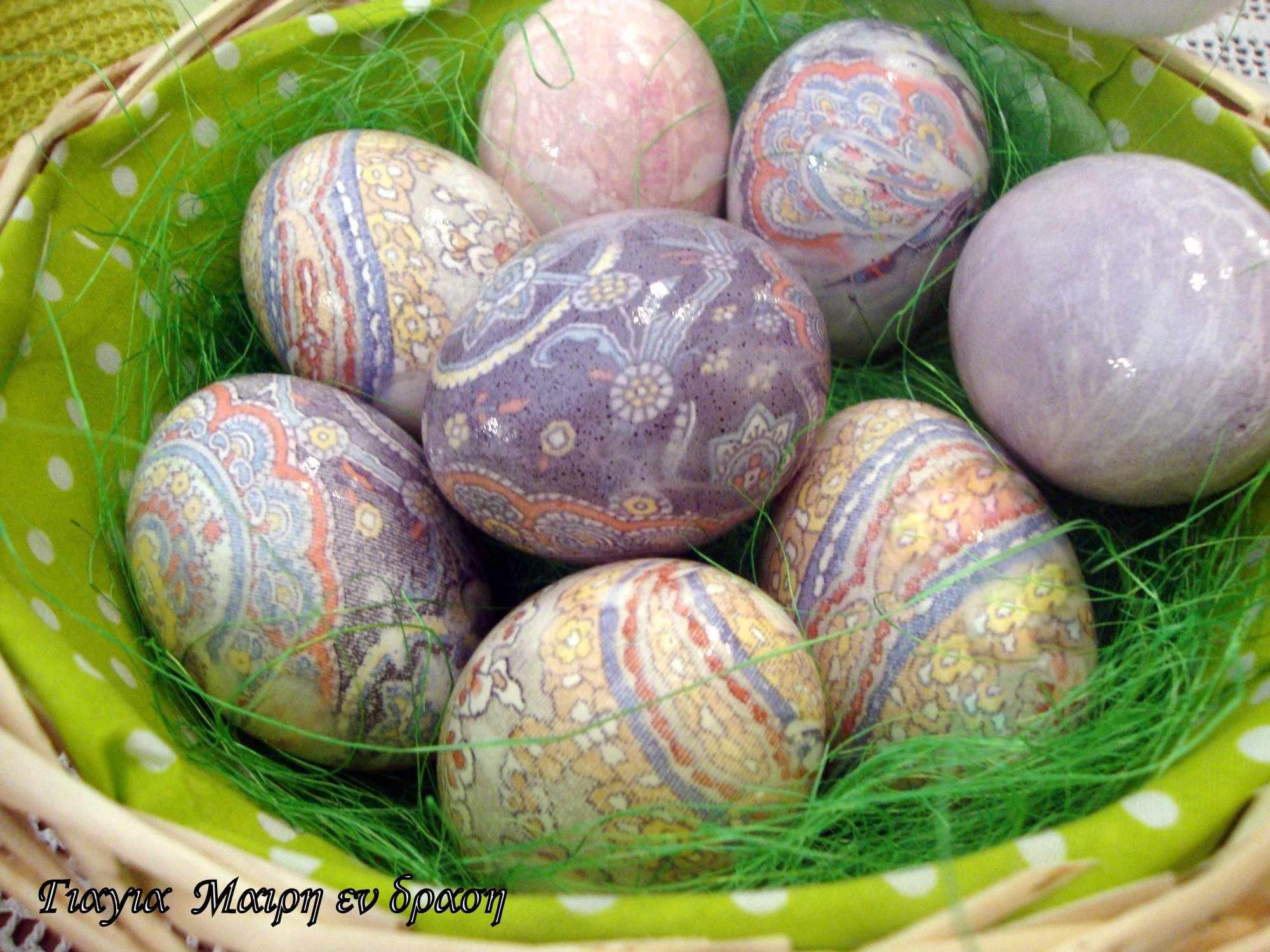 Πασχαλινά αυγά γραβάτας
