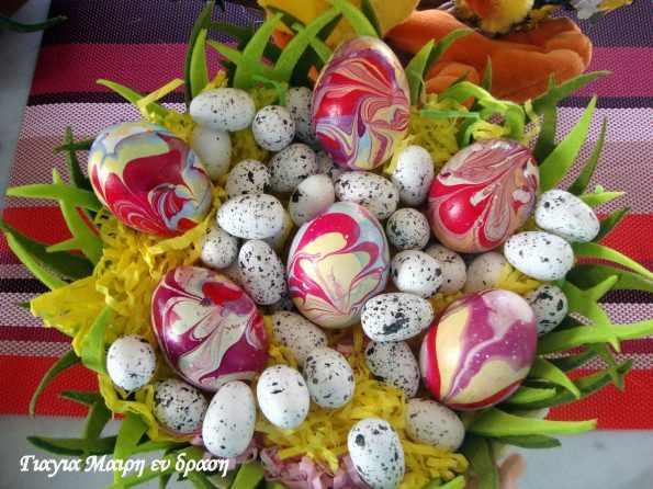 Πασχαλινά αυγά με Βερνίκι νυχιών
