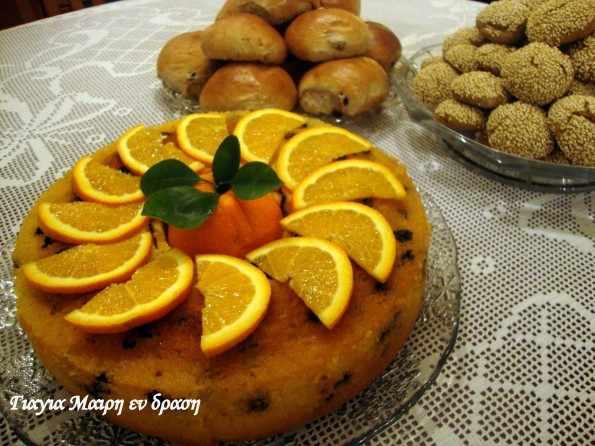 Πορτοκαλόπιτα όνειρο