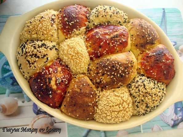 Πικάντικα ψωμάκια