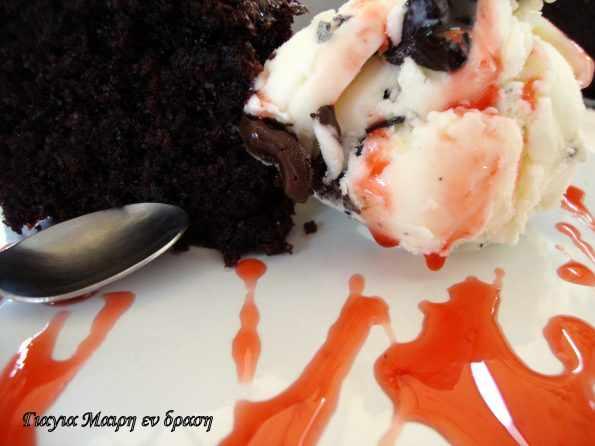 Super αφράτο κέικ με κακάο