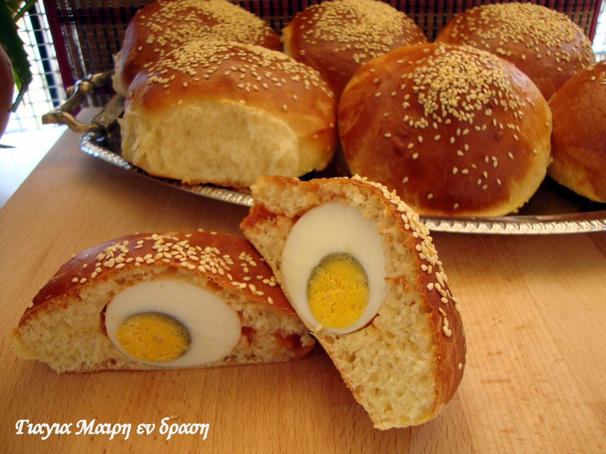 Ψωμάκια σαντου'ι'τς by Mairh