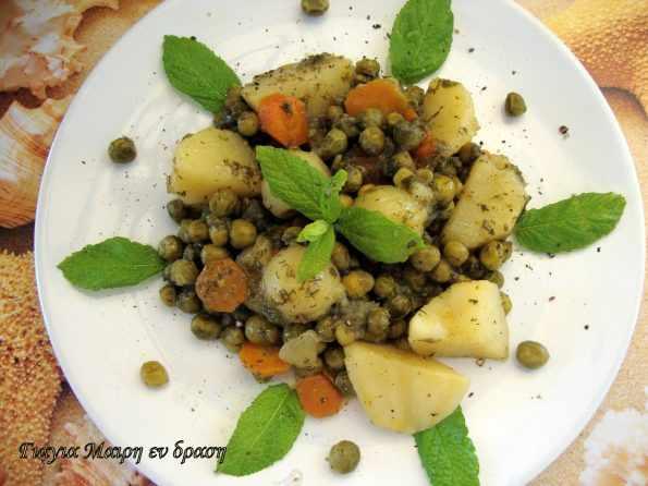 Αρακάς με λεμόνι