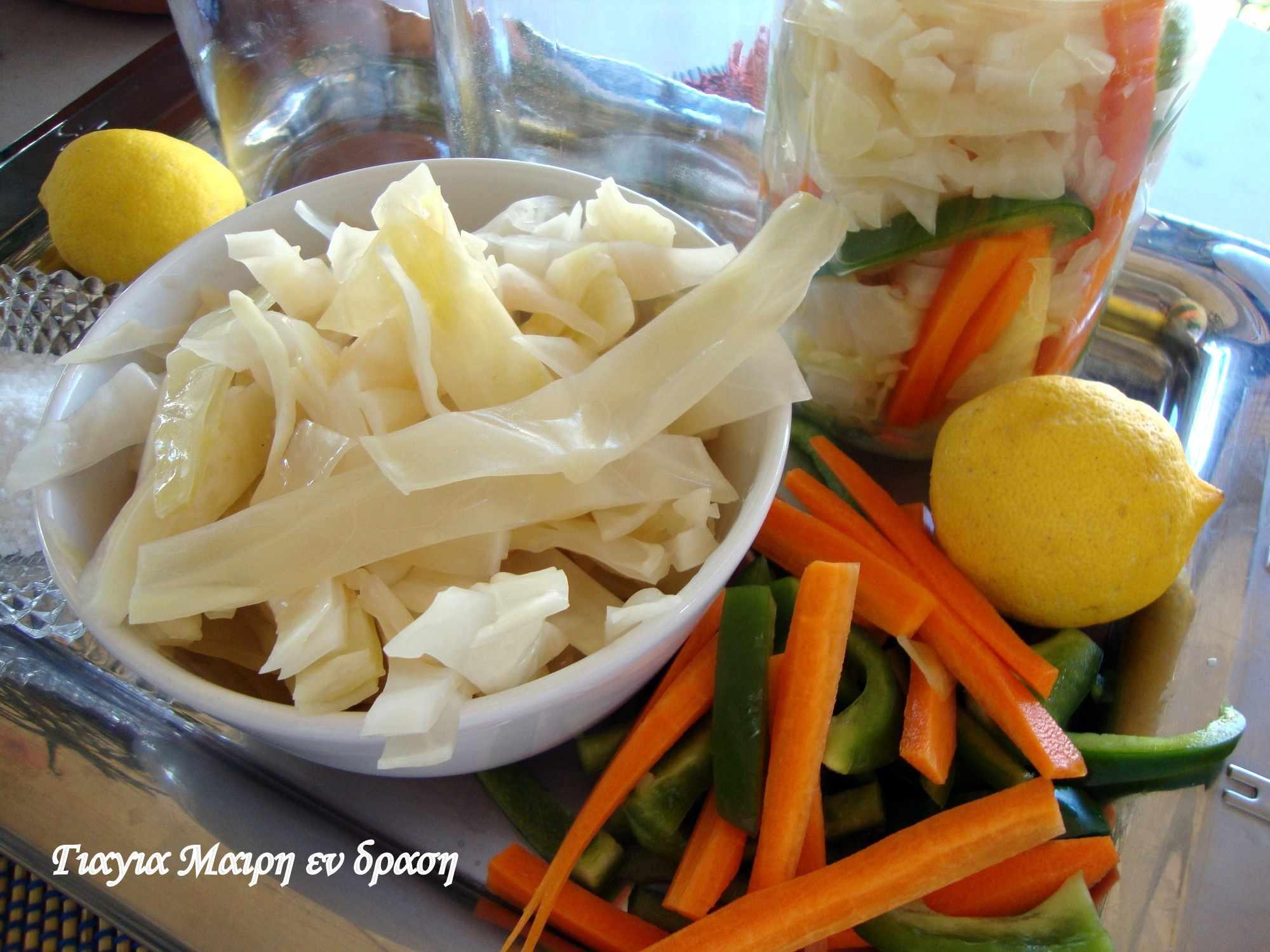 Λάχανο τουρσί