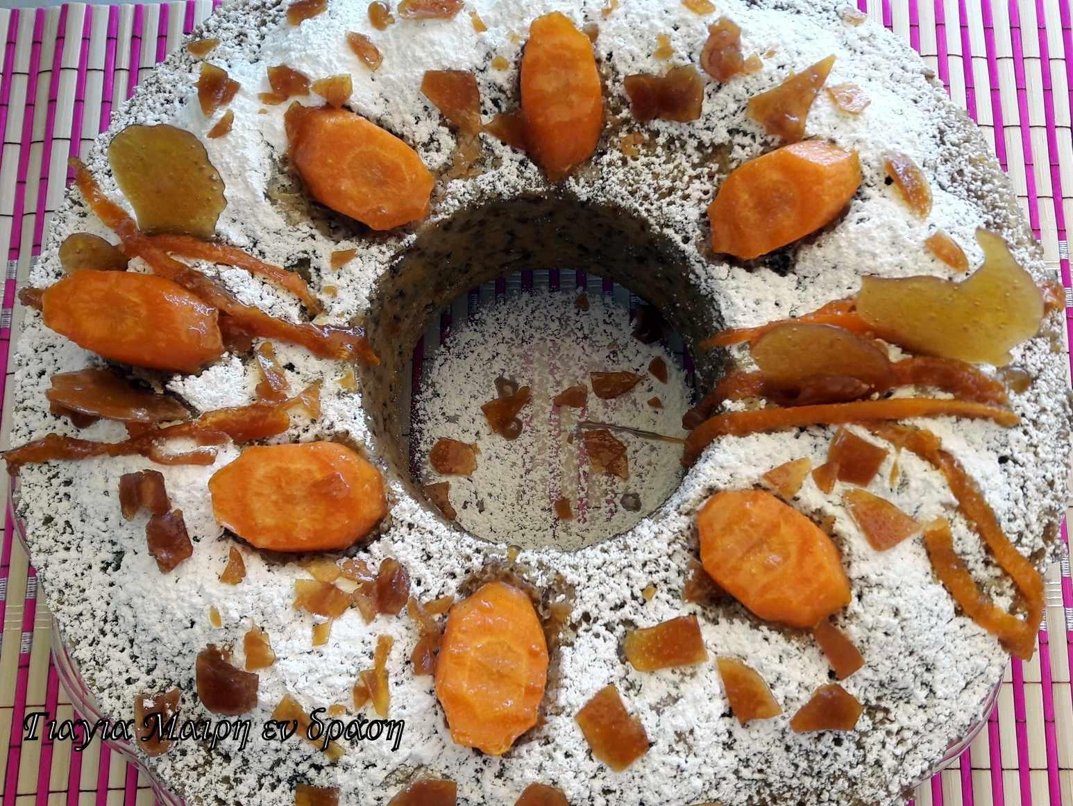Καρότο κέικ