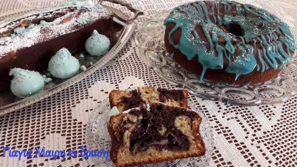Κέικ με Φιλαδέλφεια και γλάσο βανίλιας