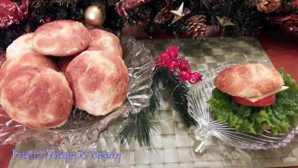 ψωμάκια με επικάλυψη