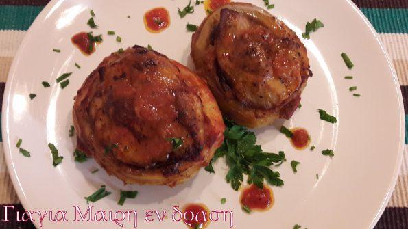 Πατάτες γεμιστές by Mairh